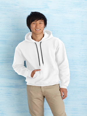 Gildan 8.5 Ounce Premium Cotton Adult Hooded Sweatshirt