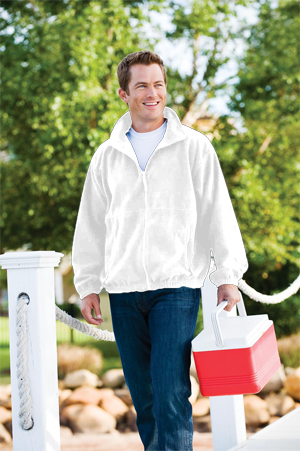 Inner Harbor 9.9 Ounce Polar Fleece Outdoor Full Zip Jacket